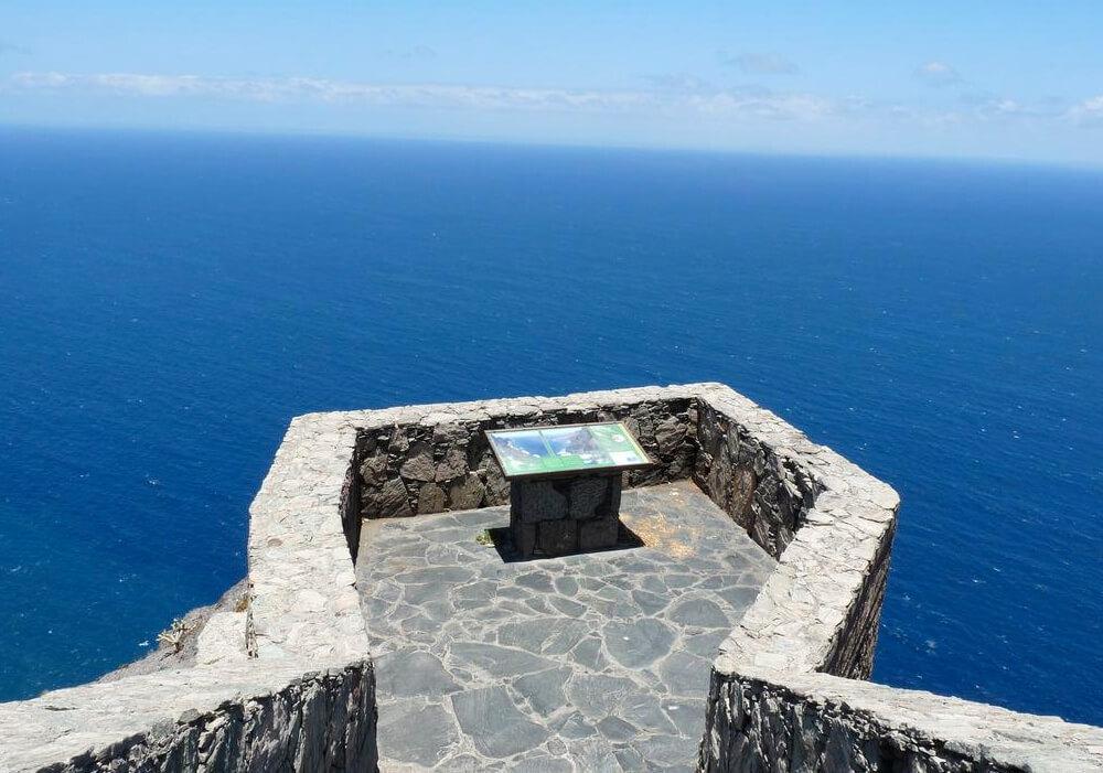 Mirador Balcón presentando el paisaje del océano en Gran Canaria.