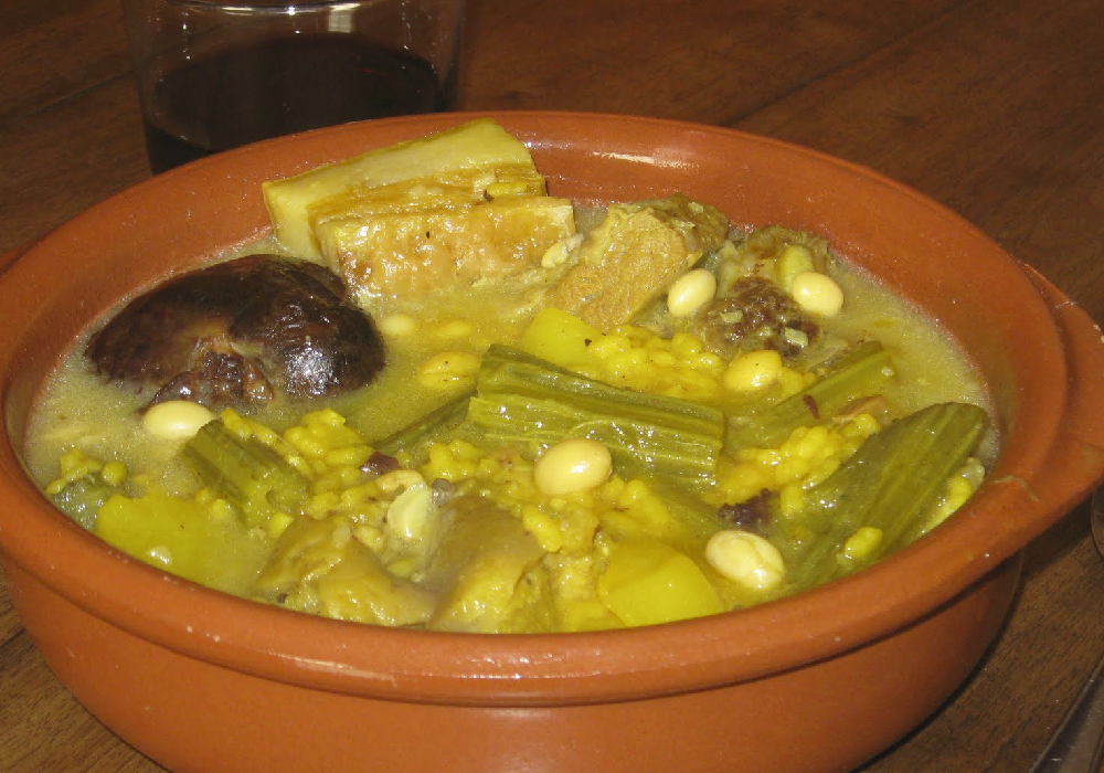 Olla Valenciana un platillo digno de comer en tu viaje a la Comunidad Valenciana.