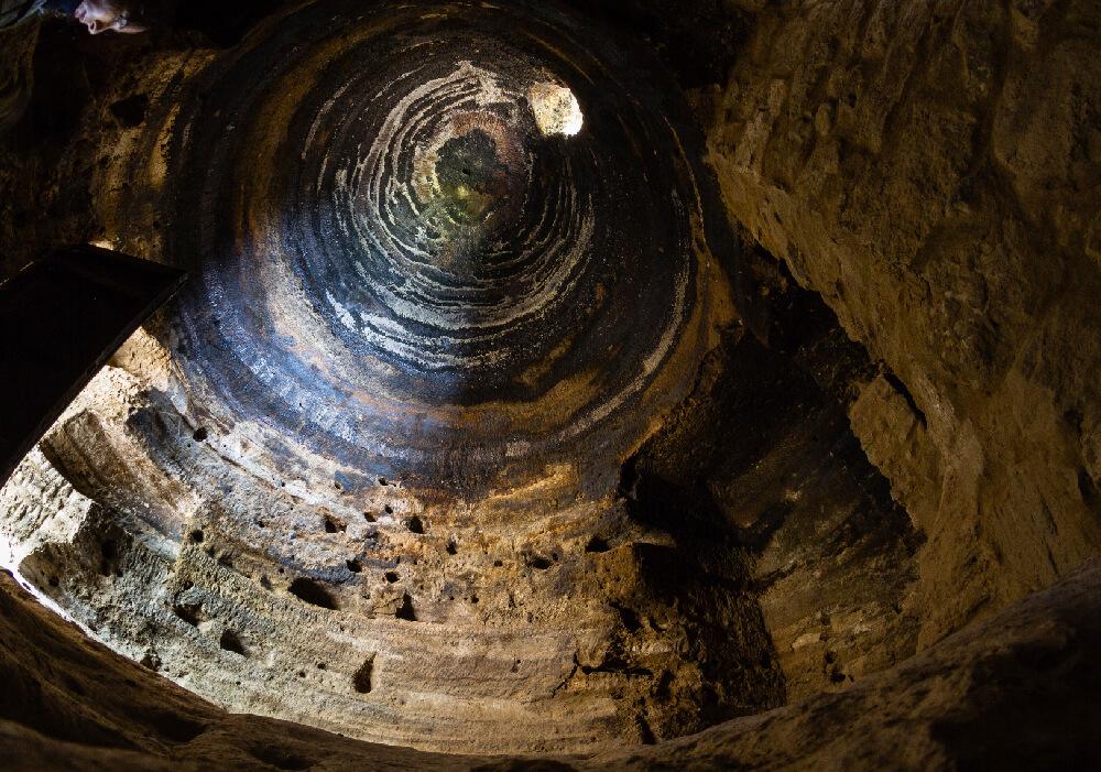 Risco Caído las cuevas más increíbles de Gran Canaria.