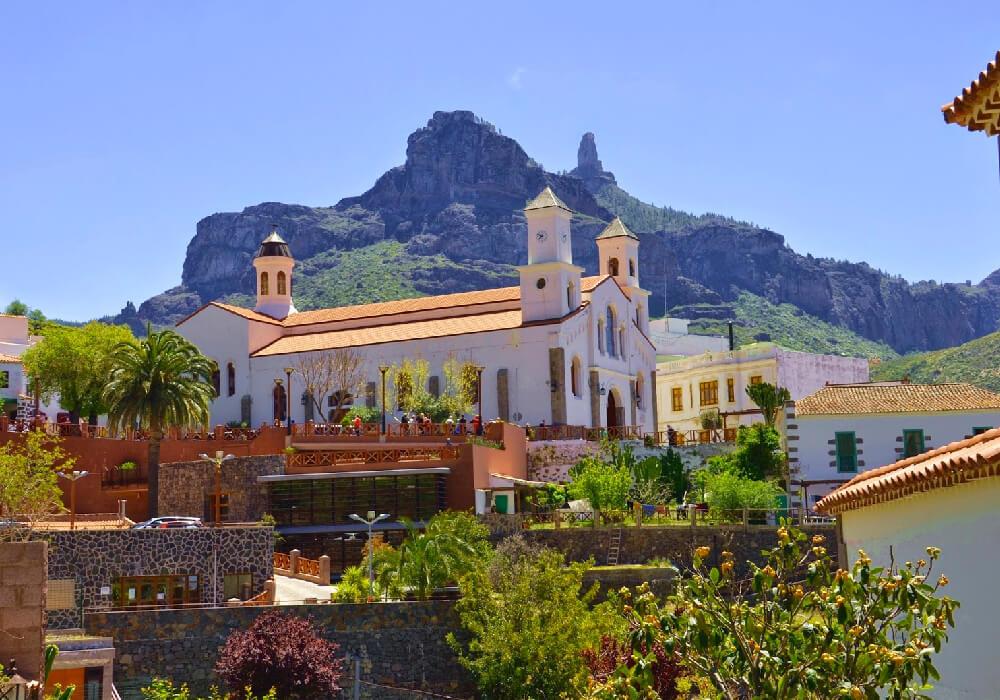 Uno de los pueblos más bonitos de España situado en Gran Canaria.