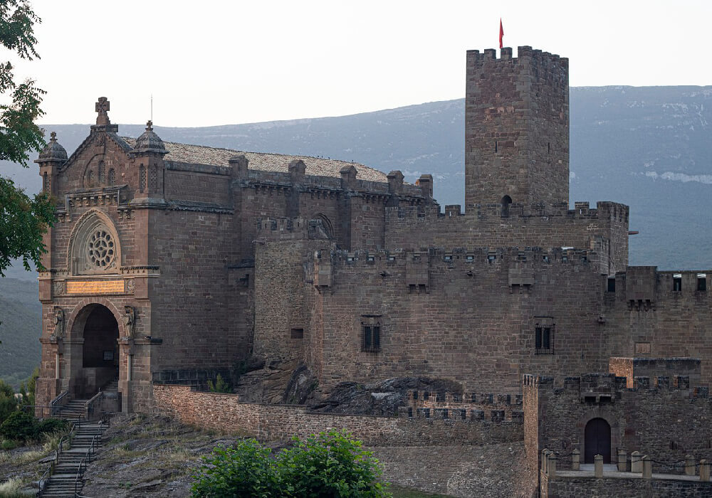 visita el castillo de javier navarra