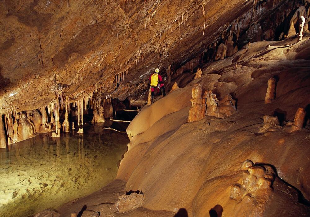 cueva de mendukilo visitas