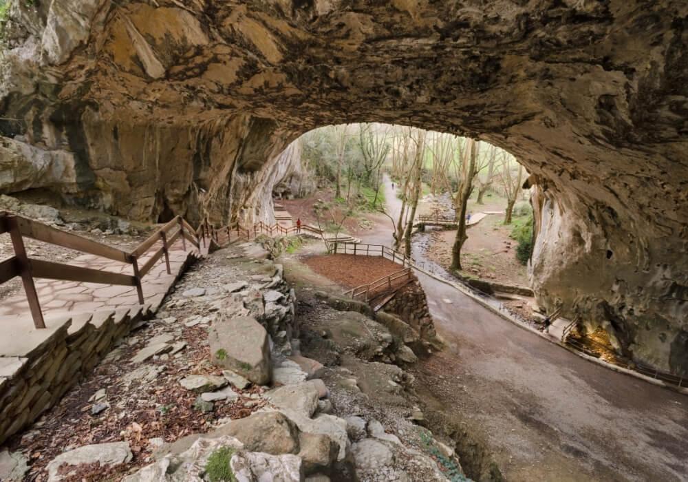 Las cuevas son toda una delicia a la vista.