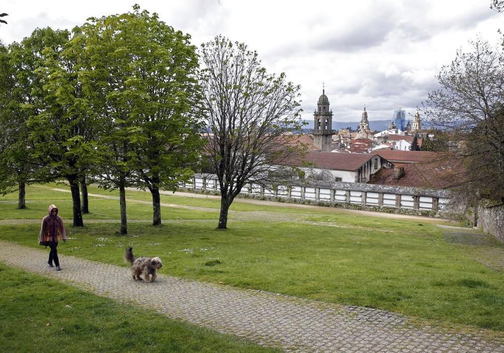 En el parque Bonaval puedes pasar tempo en familia y también puedes tener una cita romántica.