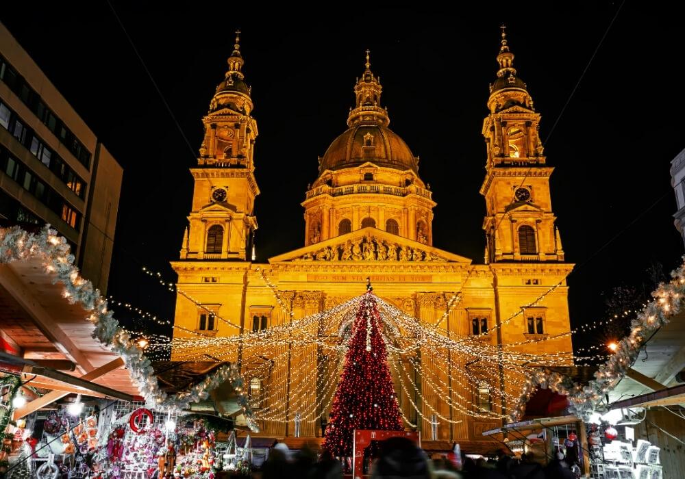 Celebra la Navidad en Budapest