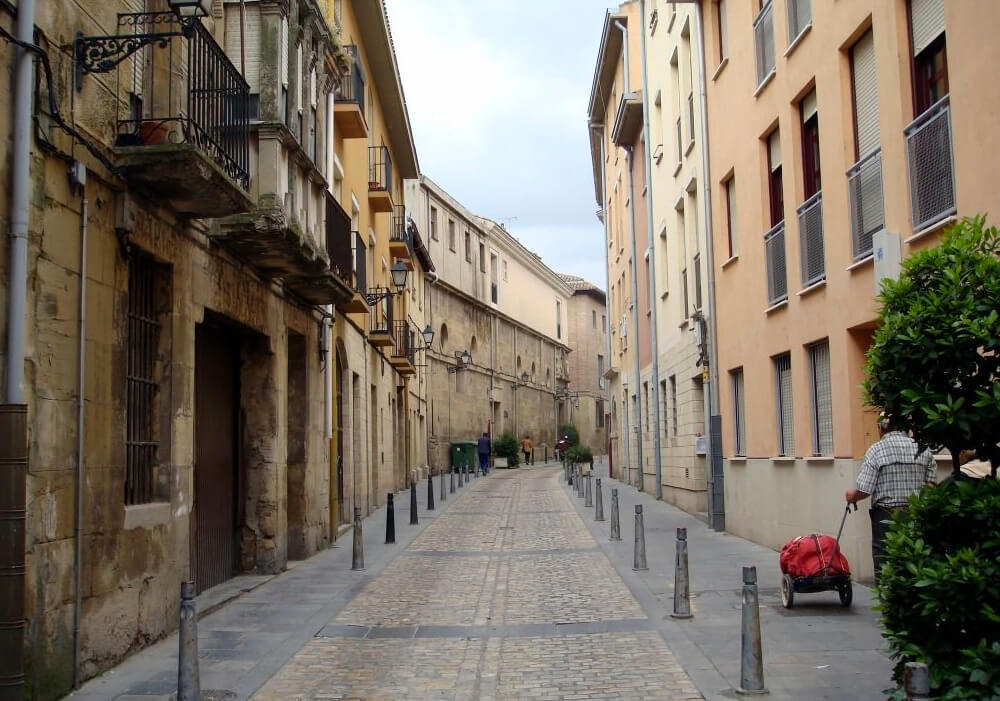 Calle Ruavieja en Logroño