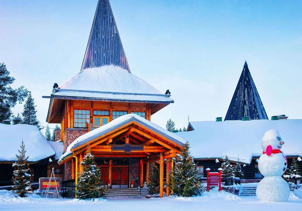 Casa de Santa Claus en Laponia