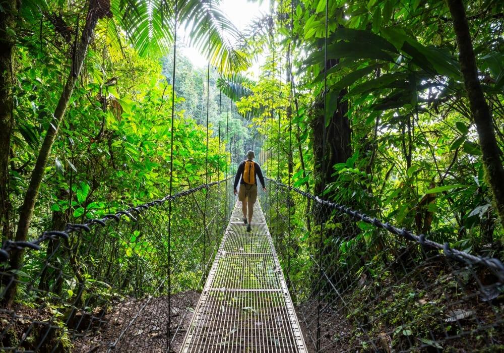 Costa Rica es un país con Sello de Viajes Seguros.