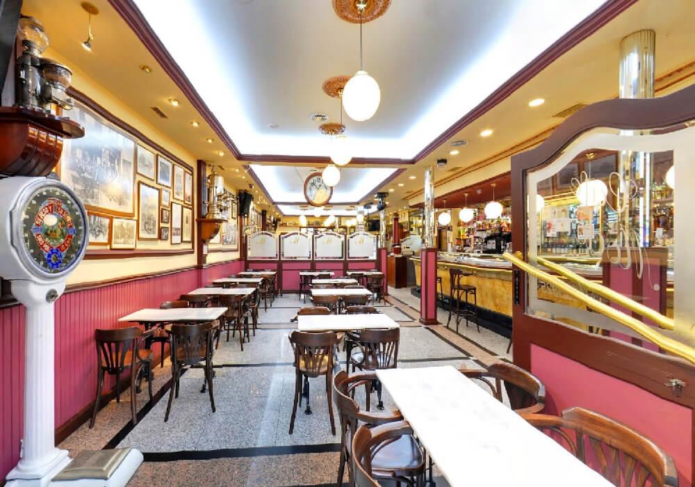 Café Moderno en Logroño
