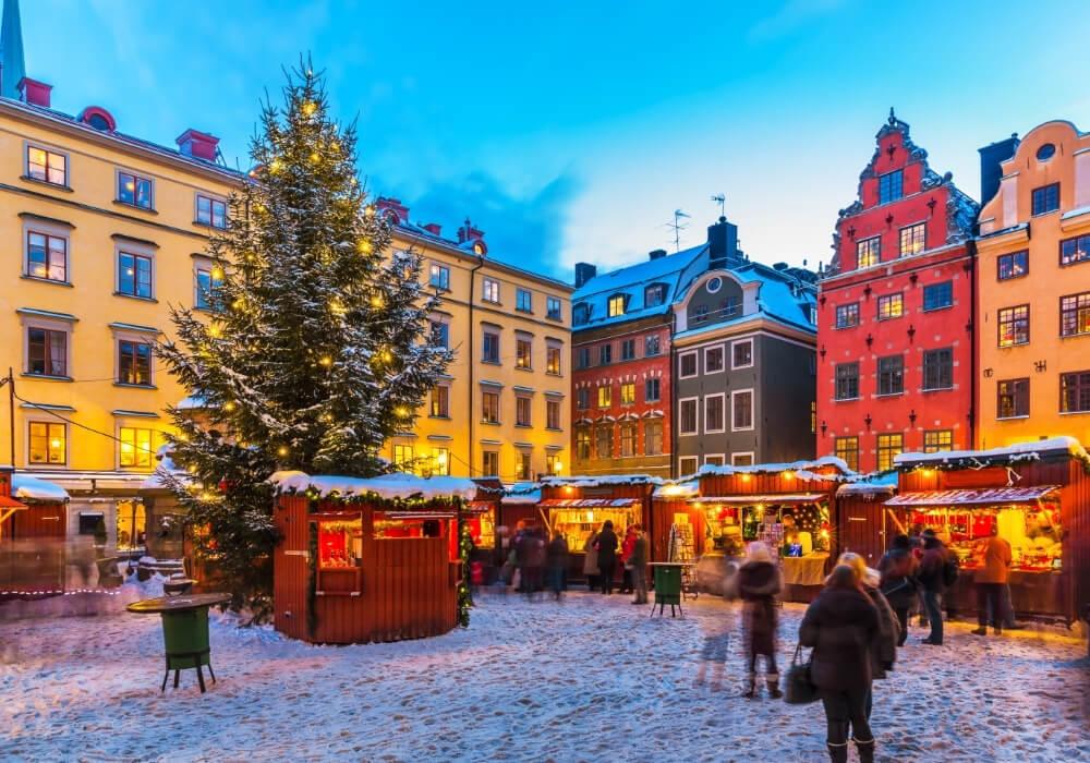 Festeja la Navidad en Estocolmo