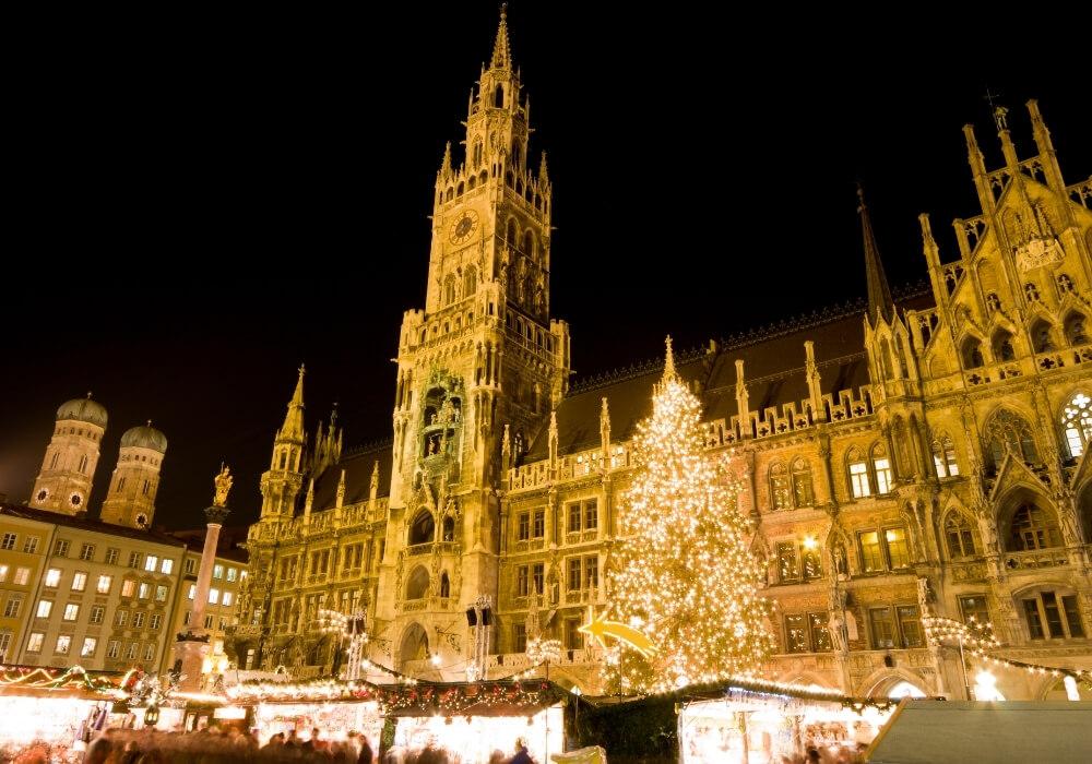 Festeja la Navidad en Múnich
