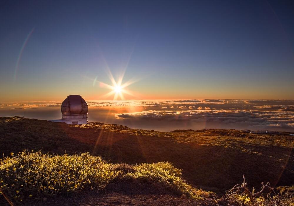 Observatorio de La Palma, Canarias.