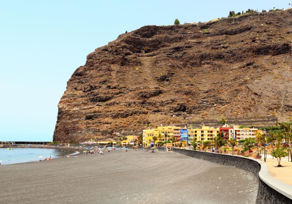 Playa Tazacorte en La Palma, Canarias