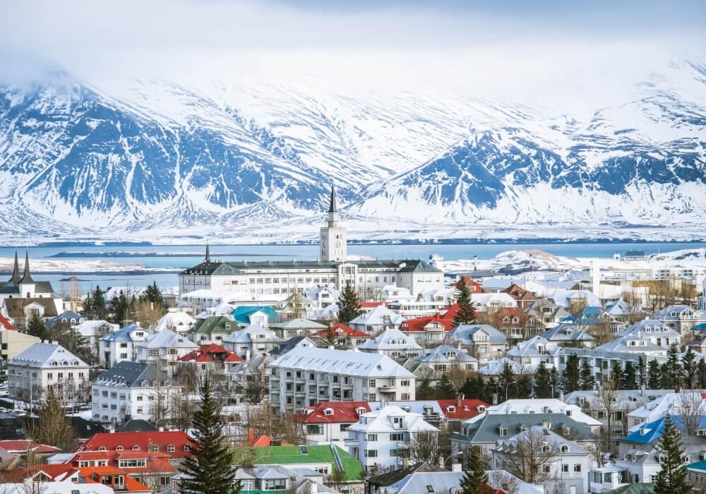 conoce reikiavik, capital de islandia