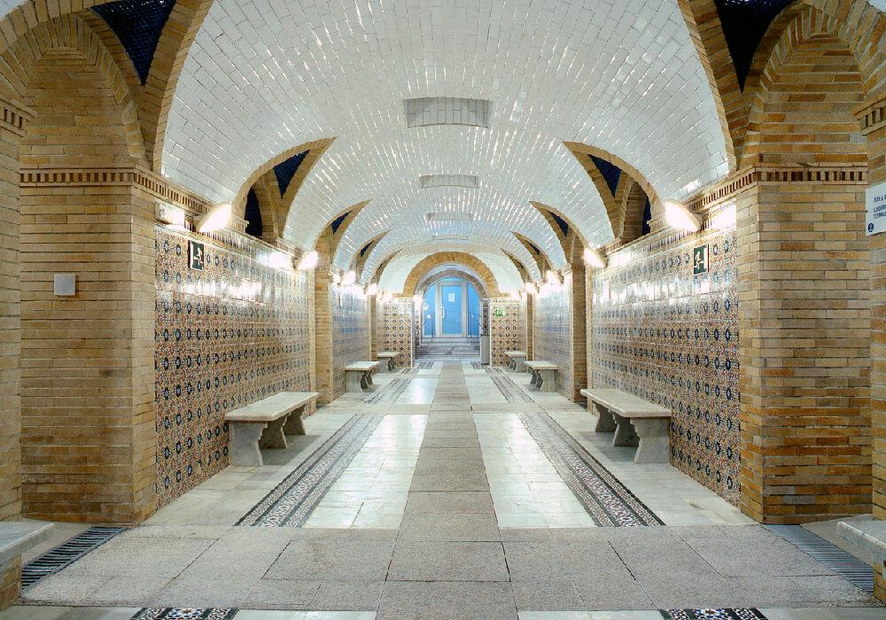 Galería Termal del Balneario de Archena.