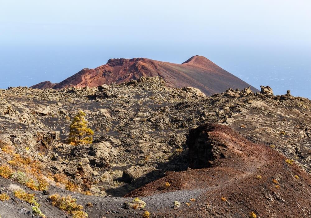 Volcán Teneguía de La Palma, Canarias
