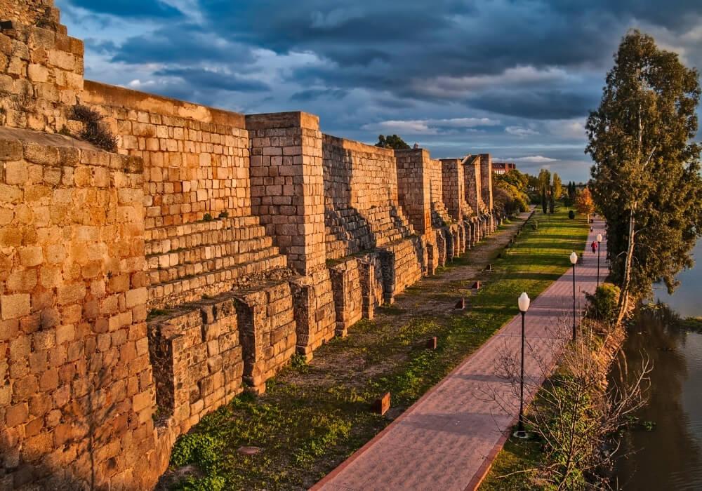 Alcazaba de Mérida, la más antigua fortaleza musulmana de España