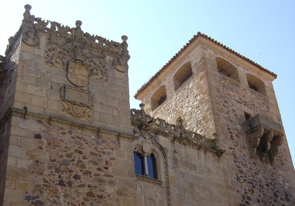 Palacio de los Golfines de Abajo en Cáceres