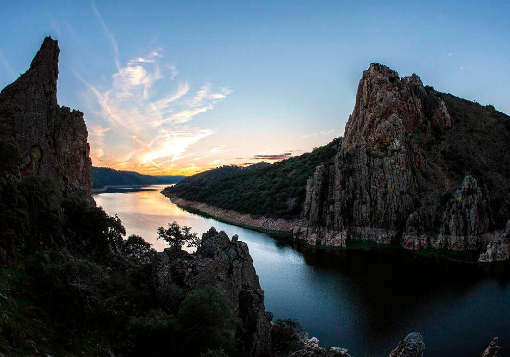 Parque Natural del Tajo Internacional en Extremadura