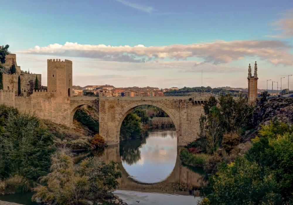 Puente Alcántara en Toledo