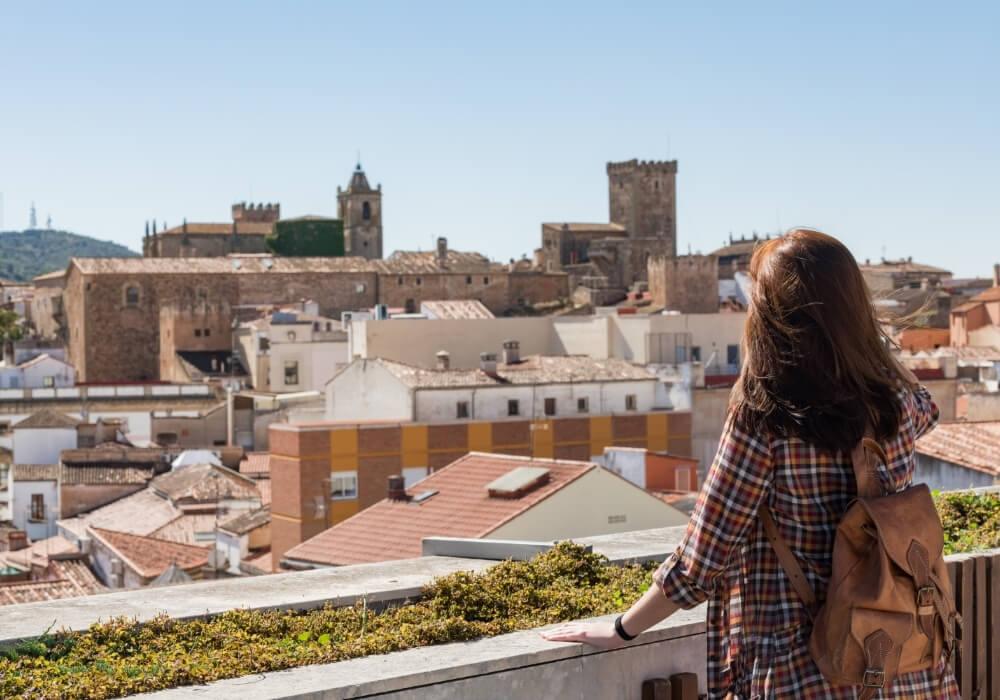 Turismo cultural en Cáceres.