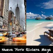 Paquetes Vacacionales Nueva York Riviera Maya