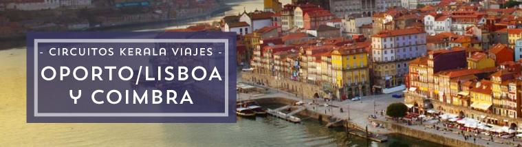 Circuito Oporto Coimbra y Lisboa en bus