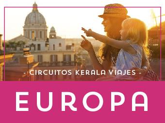 Circuitos y Viajes organizados en Europa