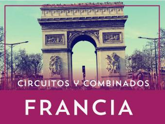 Circuitos por Francia y París