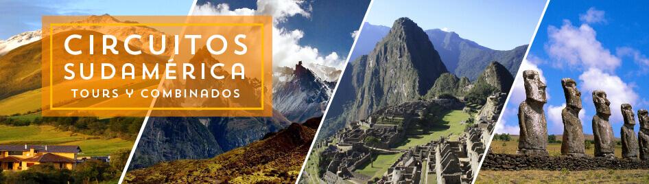 Circuitos por Sudamerica
