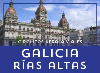Viajes Galicia 2017: Circuito Galicia Rías Altas 2017