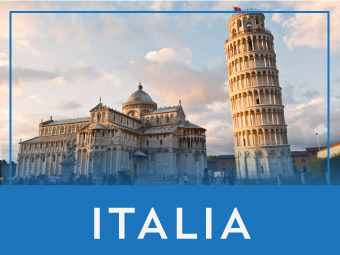 Viajes organizados por Italia