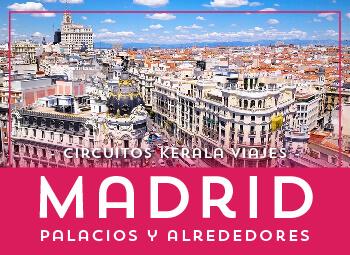 Circuito por Madrid España organizado