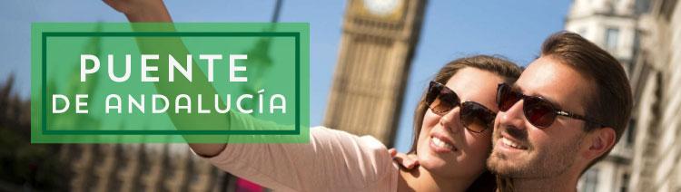 Viajes puente de Andalucía 2019
