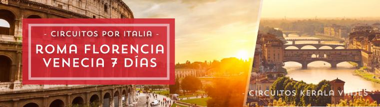 Circuito Italia Roma Florencia Venecia 2017