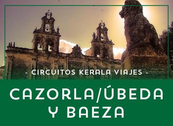 Viajes Andalucía 2017: Circuito por Jaén, Cazorla, Úbeda y Baeza