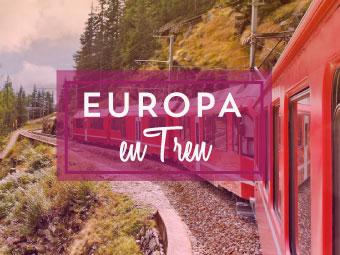 Combinados Europa en Tren 2017