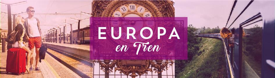 Viajes por Europa en Tren