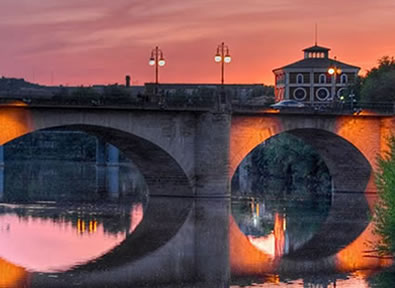 Viajes La Rioja 2018-2019: La Rioja, ruta de monasterios - Puente del Pilar 2018 -