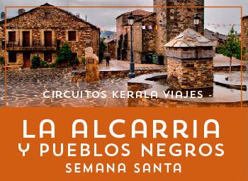 Viajes Castilla La Mancha 2019-2020: La Alcarria y Pueblos Negros Puente Semana Santa 2020