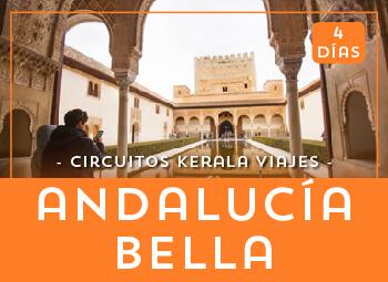 Viajes Andalucía 2017: Circuito Andalucía Bella 4 días