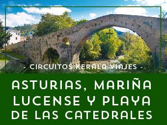 Viajes Asturias 2017: Tour por Asturias y Mariña Lucense - Verano 2018
