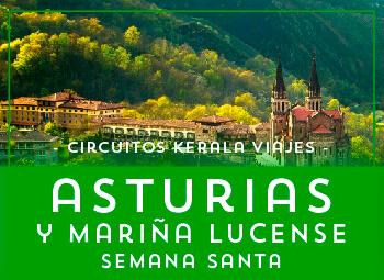 Viajes Asturias 2018-2019: Circuito por Asturias en Semana Santa 2019