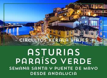 Viajes Asturias 2017: Circuito Asturias Paraíso Verde Desde Andalucía