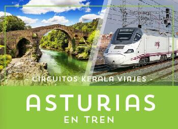 Viajes Asturias 2017: Circuito Asturias, Paraíso Natural 6 días en Tren - Verano 2018