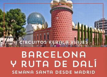 Viajes Cataluña 2017: Barcelona y Ruta de Dalí  Semana Santa 2018