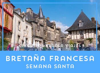 Viajes Francia 2019-2020: Circuito Bretaña Francesa Semana Santa 2020