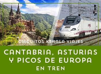 Viajes Cantabria y Asturias 2019: Circuito por Asturias, Cantabria y Picos de Europa en Tren