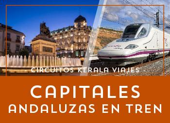 Viajes Andalucía 2019: Circuito por Andalucía con llegada en Ave