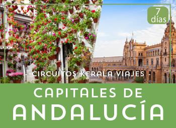 Viajes Andalucía 2017: Circuito Capitales Andaluzas en Autobús